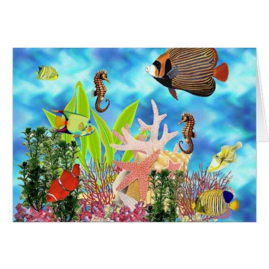 Underwater Card