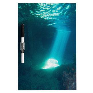 Underwater Cave Dry-Erase Board