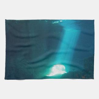 Underwater Cave Towel