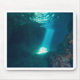 Underwater Cave Mouse Pad