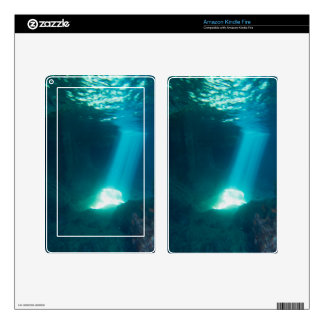 Underwater Cave Skin For Kindle Fire