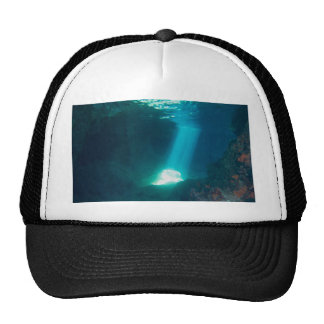 Underwater Cave Trucker Hat