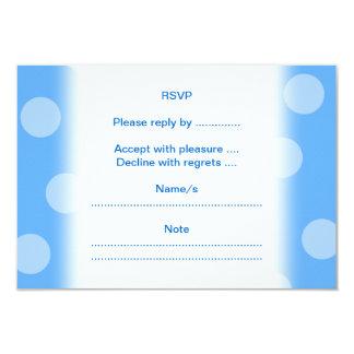 "Underwater Clam. 3.5"" X 5"" Invitation Card"