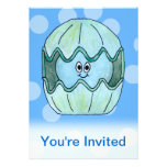 Underwater Clam. Personalized Announcements
