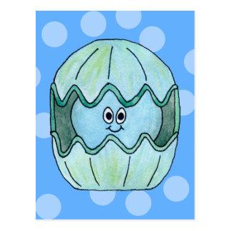 Underwater Clam. Postcard