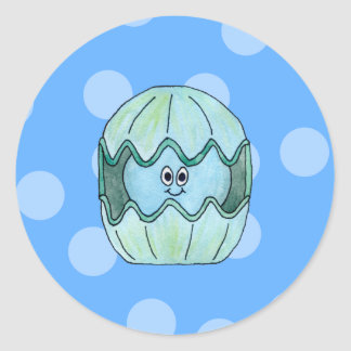 Underwater Clam. Stickers