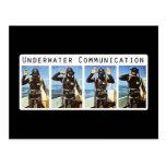Underwater Communication Postcard