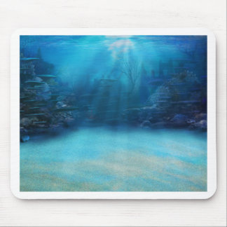 Underwater Coral Reef Towers Mouse Pad
