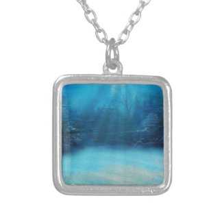Underwater Coral Reef Towers Necklace