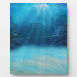 Underwater Coral Reef Towers Plaques
