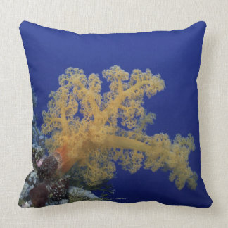 Underwater Coral Throw Pillow
