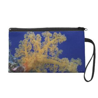 Underwater Coral Wristlet Purse