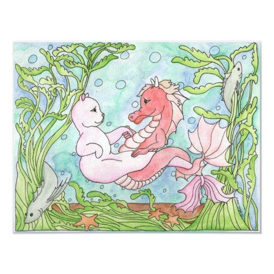 Underwater Dance Card