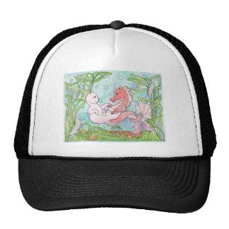Underwater Dance Mesh Hats