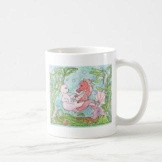 Underwater Dance Classic White Coffee Mug