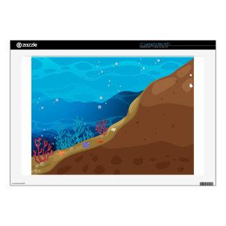 "Underwater Decals For 17"" Laptops"