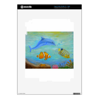 Underwater Decals For The iPad 2