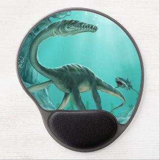 Underwater Dinosaur Gel Mouse Pad