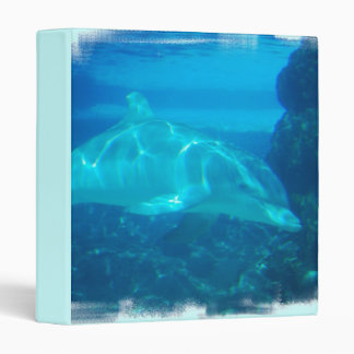 Underwater Dolphin Binder