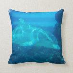 Underwater Dolphin Pillow