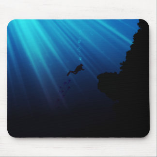 Underwater Dream Mouse Pad