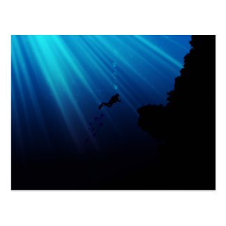 Underwater Dream Postcard