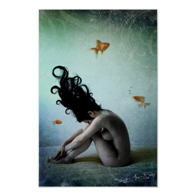 Favorite Surreal Posters - Underwater Dreams Posters