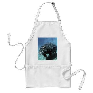 Underwater exploration adult apron