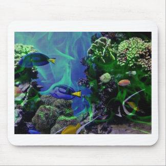 Underwater Fantasy World of fish Mousepads