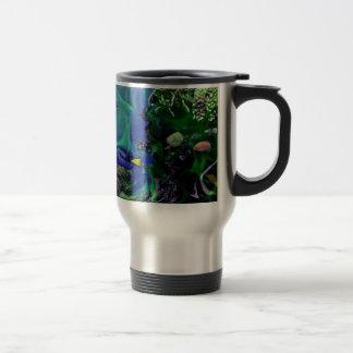 Underwater Fantasy World of fish Travel Mug