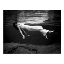 Underwater Fashion Photography Postcard