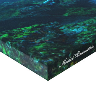 Underwater Fernando de Noronha, Brazil - Canvas
