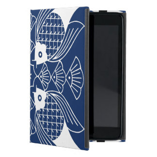 Underwater Fish Design with Blue Background Cover For iPad Mini