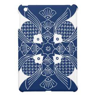 Underwater Fish Design with Blue Background iPad Mini Cases
