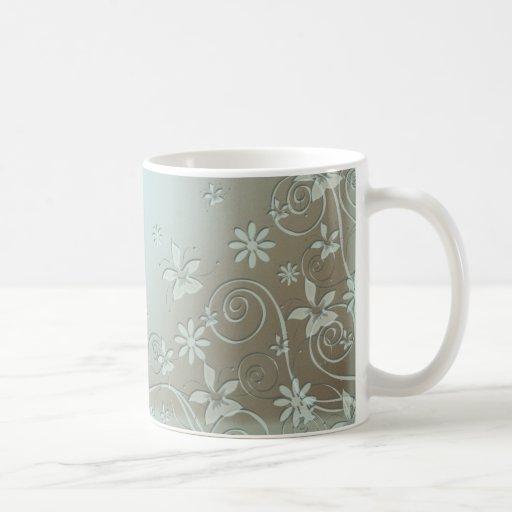 Underwater Floral Art Mug
