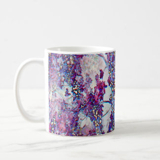 Underwater Forest (violet) Coffee Mug