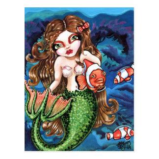 Underwater Friend Postcard