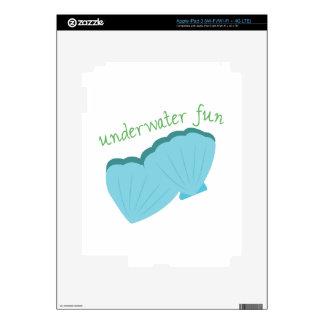 Underwater Fun iPad 3 Skin