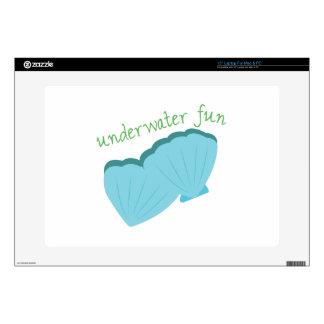 "Underwater Fun Skin For 15"" Laptop"