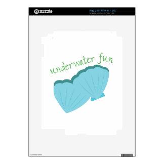 Underwater Fun Decal For iPad 2
