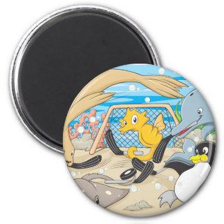 Underwater Hockey by Animals Magnet