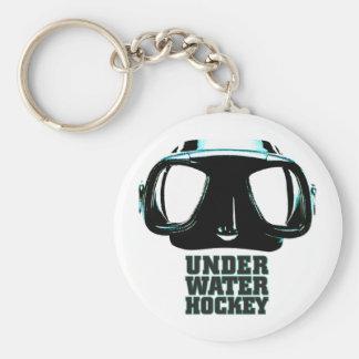 Underwater Hockey Keychain