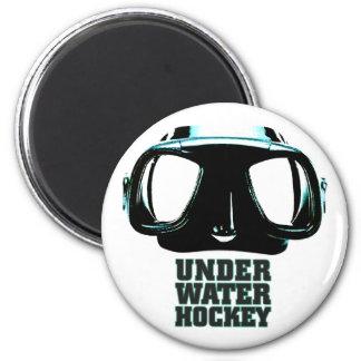Underwater Hockey Magnet