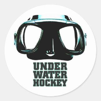 Underwater Hockey Sticker
