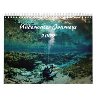 Underwater Journeys 2009 Edition Wall Calendars