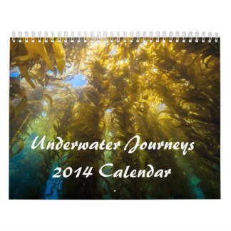 Underwater Journeys 2014 Calendar
