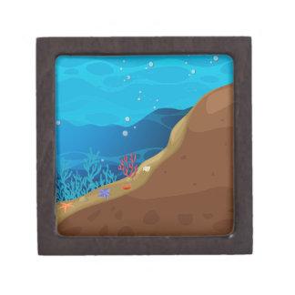 Underwater Keepsake Box