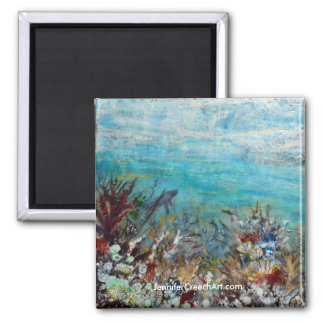 """Underwater Life"" art magnet"