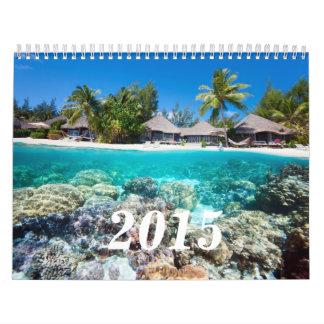 Underwater life wall calendars