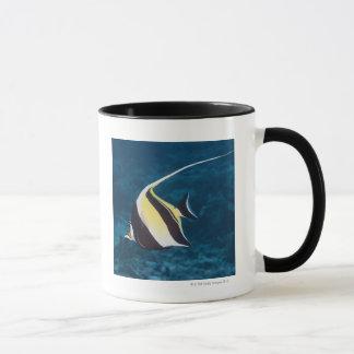 Underwater life;FISH: A Moorish Idol (Zanclus Mug